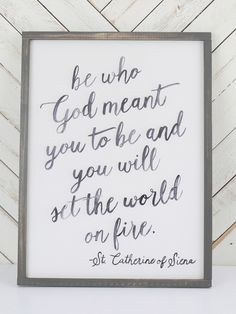 Set The World On Fire- Signs & Wall Art - Christian Home Decor