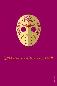 Carteles de día de muertos by cesar nandez, via Behance