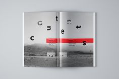 mono magazine on Behance