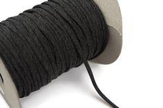 Heather Dark Gray Knit Jersey Spaghetti Strap by felinusfabrics