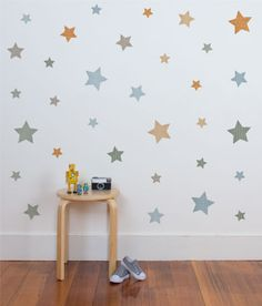 Stars - Classic Wall Stickers - Wall Stickers - Wall Decor ~ tinyme.com.au