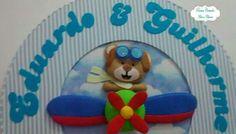 Guirlanda ursinho aviador