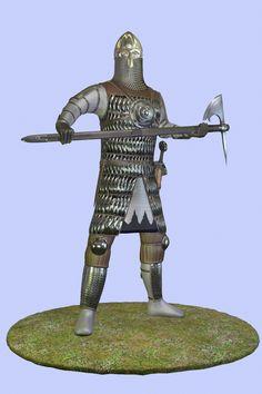 #warrior #soldier #medieval #axe