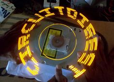 DIY Arduino Propeller LED Display