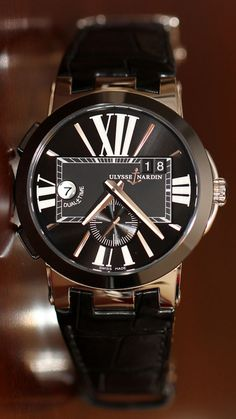 Ulysse Nardin Executive Dual Time Watch