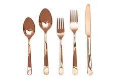 » Grace Rose Gold Cutlery