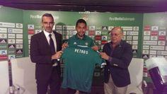 Nuevo fichaje del Real Betis 2015 2016 - Todo camisetas de futbol 2015 2016