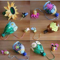 Diy Arts And Crafts, Diy Crafts Videos, Diy Crafts For Kids, Projects For Kids, Easy Crafts, Toddler Crafts, Toddler Activities, Diy With Kids, Plastic Bottle Art