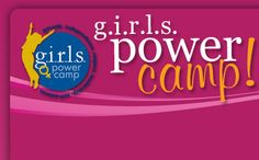 GIRLS Power Camp Logo