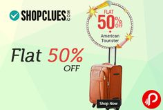 Flat 50% OFF American Tourister - Shopclues