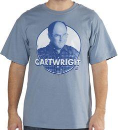 Seinfeld George Costanza Cartwright Shirt