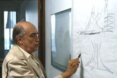 Oscar Niemeyer - Photo Portfolio of Selected Works Famous Architects, Sculpting, Masters, Facade, Photography, Icons, Decoration, Board, Image