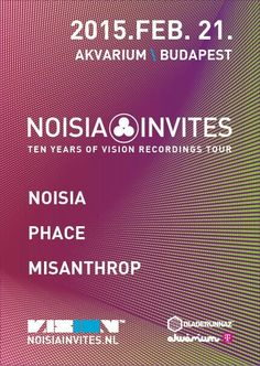 Noisia Invites Outdoor Venues, Budapest, Four Square, Tours, Invitations, Events, Reading, Happenings, Reading Books