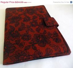 Gothic Lace iPad Air Cover iPad Air Case Red and by gothicreations, $20.40