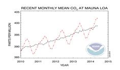 Carbon dioxide's rise and rise | Pollution | The Earth Times