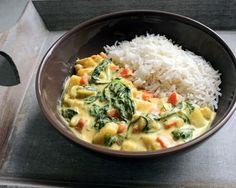 Paleo Reboot - curry de légumes (végétalien) Plus Paleo Reboot - Veggie Recipes, Indian Food Recipes, Healthy Dinner Recipes, Vegetarian Recipes, Cooking Recipes, Indian Foods, Healthy Soup, Curry Recipes, Fruit Recipes