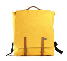 Mad Rabbit Kicking Tiger – Jeadon Backpack in Honey Mustard/Classic Brown. Serious size and durability combine in the Jaedon to create the ideal canvas backpack to fill to your heart's content. Features: canvas body, felt lining, PU handle, snap button closures, drawstring main compartment, zipped interior pocket, snap button closing interior pouch, two velcro closing interior pouches and adjustable straps. mrktaustralia.com.au • Subscribe at thebigdesignmarket.com for your chance to win.