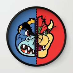 Old & New Bowser Clock