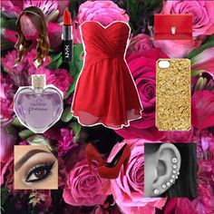 Prom in Red