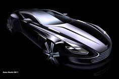 Aston Martin DB11 sketch