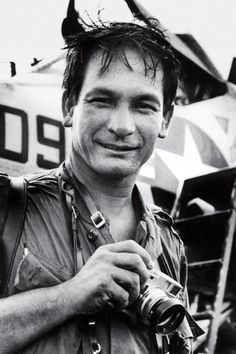 Photojournalist Henri Huet covered the Vietnam War and was killed in 1971 when the helicopter he was in was shot down over Laos. His mother was Vietnamese.
