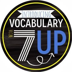 The Brown-Bag Teacher: 7-Up Vocabulary Practice