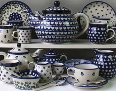Country Traditionals - Polish Pottery