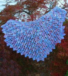 Butterflies Shawl by Cheri McEwen Free Pattern