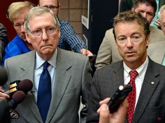 'We're Gonna Win This': Rand Paul And Mitch McConnell Caught On Hot Mic Discussing Shutdown Strategy