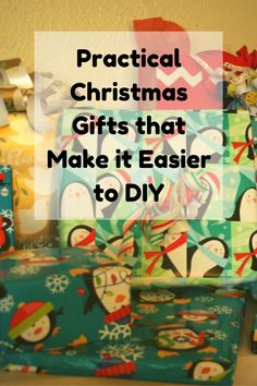 Practical Christmas Gifts that Make it Easier to DIY