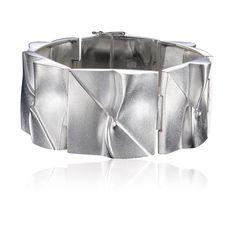 Silver bracelet, Björn Weckström, Finnish Design