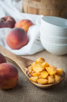 BBQ Roasted Peaches for Dessert. The recipe is so simple to prepare and it's so delicious. This peach recipe is versatile, eat it on cake, ice cream or with dollop of whipped cream.