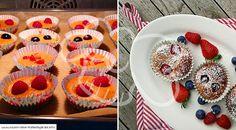 Essen ohne Kohlenhydrate Früchte Mandel Muffins