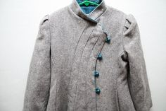 Delightfully Detailed Girl's Vintage Wool by WoollyMammothVintage, $55.00