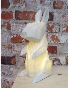 Kids Children Gift Rabbit Colour 3D Desk Table Bedroom LED Night New Lamp Light  | eBay