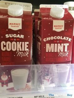 6aded2e214b Market Pantry Sugar Cookie Milk and Chocolate Mint Milk - Target Fast Food  Reviews, Impulsive