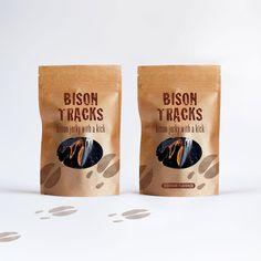 Two Pack Bison Tracks Sampler by JerkyTracks on Etsy, $26.00