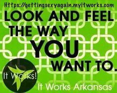 Want to look and feel the way you want? Text Healthy to 870.540.6865. Do you want to make money while doing so? Text Freedom.