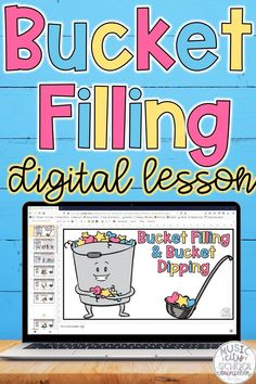Bucket filler activities, Have You Filled a Bucket Today lesson for digital learning, distance learning, and classroom lessons. Classroom guidance lesson elementary and SEL lesson on bucket fillers and bucket dippers, kindness. Kindergarten Classroom Decor, Elementary School Counseling, School Social Work, School Counselor, In Kindergarten, Elementary Schools, Social Emotional Activities, Counseling Activities, Classroom Activities