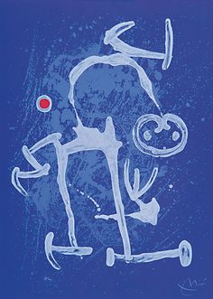 'The Illiterate Blue', Joan Miró