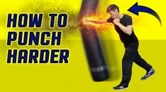 How to execute a punch HARDER - how to throw a punch correctly - How to ...