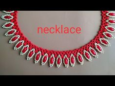Beaded Necklace Patterns, Necklace Designs, Beaded Bracelets, Necklace Tutorial, Diy Necklace, Necklace Ideas, Beading Tutorials, Beading Patterns, Homemade Necklaces