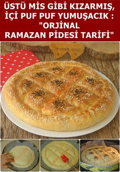 A soft, original Ramadan Pita recipe that you can easily make at home. A soft, original Ramadan Pita recipe that you can easily make at home. Turkish Recipes, Italian Recipes, Turkish Sweets, Pita Recipes, Turkish Kitchen, Fish And Meat, Fresh Fruits And Vegetables, Iftar, How To Make Bread