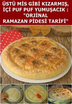 A soft, original Ramadan Pita recipe that you can easily make at home. A soft, original Ramadan Pita recipe that you can easily make at home. How To Make Bread, Food To Make, Pide Recipe, Turkish Kitchen, Iftar, Turkish Recipes, Food Art, Bakery, Food And Drink
