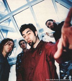 Deftones in France, January 1998.Picture by Alessio Pizzicannella.
