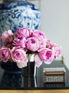 pink. Add unique vase/holder.