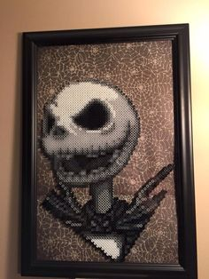 Jack Skellington- Nightmare Before Christmas perler beads by Amber--Lynn