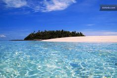 Alone on your own Fiji Island - Airbnb why just rent a hotel room if you can have a whole private island?!