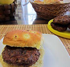 Southwestern Flavored Grilled Bison Burgers