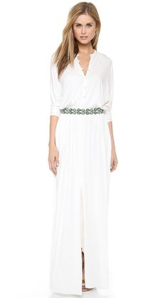 Rachel Pally Shannon Maxi Dress   selected by jamesdrygoods.com for the made in america: contemporary project   #madeinusa  